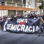 Torcidas se unem em manifesto por democracia na paulista